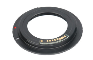 M42 Lens Mount To Canon EOS EF/EF-S Adapter For Canon Cameras with AF confirm