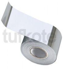 Tufkote Chrome Metallised Vinyl Tape Decal Self Adhesive, 2 Inch x 3 Meters