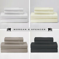Morgan & Spencer 1000TC Cotton Rich Summer Range SUPER KING Size Sheet Set