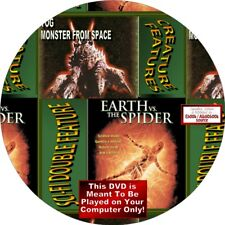 SCI-FI DOUBLE FEATURE - YOG-MONSTER FROM OUTER SPACE & EARTH VS SPIDER-DVD