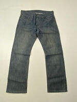 LEVI'S 514 Slim Straight Jeans - W32 L30 - Blue - Great Condition - Men's