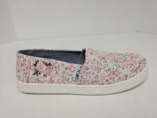 Toms Classic Slip-On Flats, Multi Pink Floral, Little Kids 2.5 M