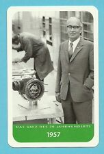 Felix Wankel Rotating Piston Engine Inventor Cool Collector Card from Europe