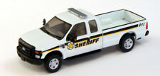 HO RPS River Point Station Ford F-250 Super Cab Pickup White Sheriff 1/87 Scale