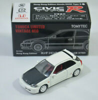 Honda CIVIC Type R 1997 Hong Kong Ed. Vintage Neo WHITE Tomica LTD Tomy Tomytec