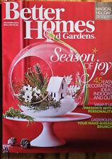 "Better Homes & Gardens  Dec 2014  ""45 Easy Decorating Ideas"""