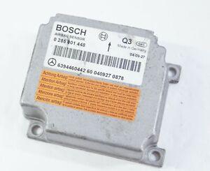 2004-2011 Mercedes VITO W639 Airbag Control Unit ECU OEM 0285001448 6394460442