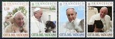 More details for vatican city pope francis stamps 2020 mnh with animals lamb dogs pigeons 4v set