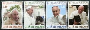 Vatican City Pope Francis Stamps 2020 MNH With Animals Lamb Dogs Pigeons 4v Set