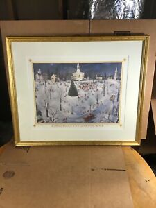 Christmas Eve at Gods Acre Signed Limited Edition Lithograph by Brian O Kammerer