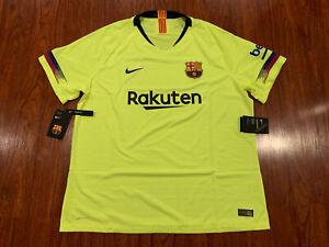 2018-19 Nike Vaporknit FC Barcelona Men's Away Soccer Jersey XXL 2XL Barca