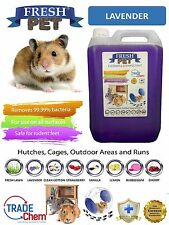 5L FRESH-PET LAVENDER - Rodent Specialist Disinfectant Rabbit Hutch Cage Runs