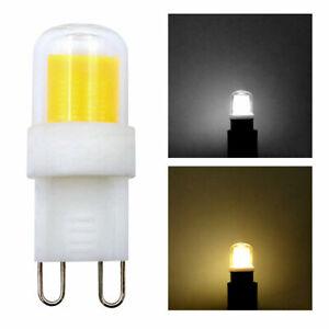 G9 Mini LED Bulb COB 1511 Light Bulbs Glass Lights Lamp 110V/220V Daylight/Warm