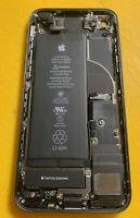 Original Apple iPhone 8 Black Gray Housing Frame Back Cover Small Parts 100% Bat