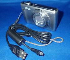 Olympus Stylus VR-370 16.0MP Digital Camera - Silver