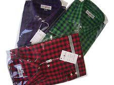 41-42 Maschinenwäsche Herren-Trachtenhemden aus Baumwolle