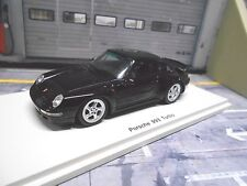 PORSCHE 911 993 Turbo Coup schwarz black 1995 Spark Resin Highenddetail lim 1:43