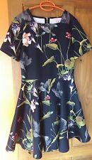 Ted Baker Moven Oriental Floral Print Skater Dress