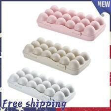 New listing 12/18 Grid Egg Holder Tray Storage Refrigerator Fridge Eggs Box Case Container