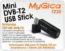 dvb t2 GENIATECH MyGica T230 USB DVB-T2 TV Tuner stick DVB-C/DVB-T