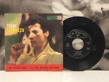 "TEDDY RANDAZZO - MY FOOLISH HEART 7"" 45 GIRI 1958 RCA MISTER ROCK'N'ROLL OST"