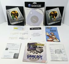 Nintendo Gamecube Ephemera Lot - Wavebird, Game Boy Player, Bongos, Memory Card