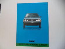 advertising Pubblicità 1984 FIAT RITMO 60 CL