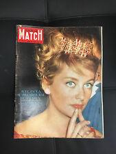 PARIS MATCH 668 27 JANVIER 1962 Paola, Marie France Pisier Audrey Hepburn Frejus