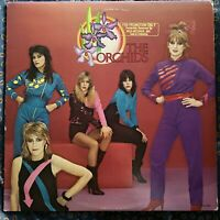 The Orchids~Self Titled~1980 Pop Rock Girl Group~MCA Gold PROMO LP~Lyrics Insert