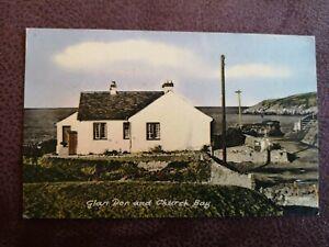 POSTCARD ANGLESEY - GLAN DON & CHURCH BAY -  EARLY 1900's.