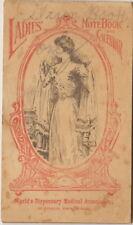 Dr. Pierce's Ladies Note Book and Calendar, 1911  NICE