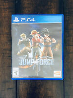 PS4 Playstation 4 Jump Force Video Game Case (Case Only, NO GAME)