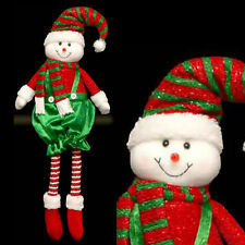 Christmas 70cm Sitting Character Room Decoration - Snowman Design