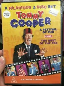 Tommy Cooper A Feztival of Fun + The Best of The Fez - 2-Disc - REGION 4