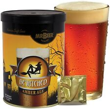 Beer Refill Kit, Homebrewing Amber Ale Extract Yeast Cleanser Microbrewery New