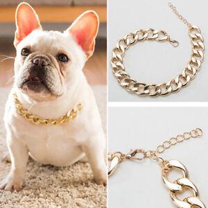 Pet Dog Collar Cute Funny Chain Necklace Decor
