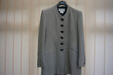 Jaeger Ladies Jacket, Black / White with glitter highlights, Size 14, VGC