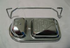 "1971 - 1979 Mopar Dodge Chrysler Plymouth Chrome Master Cylinder Cover 3.5"" x 6"""