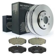 Bremsscheiben 305mm Bremsbeläge vorne für Nissan Opel Vivaro Renault Trafic II