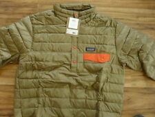 n.w.t.in bag mens Patagonia Down fill Snap -T P/O ASH TAN sz. L. retail $199.00
