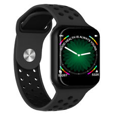 Smartwatch F8 bluetooth activity tracker cardio fitness per Android e iOS nero
