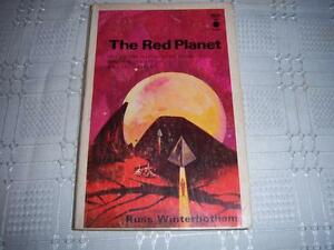 The Red Planet by Russ Winterbotham Science Fiction  Book