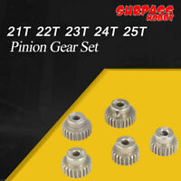 SURPASS HOBBY 48DP 3.175MM 21T 22T 23T 24T 25T Pinion Gear Set for 1/10 RC Motor