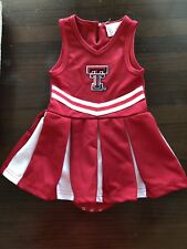 Texas Tech Cheerleader Uniform 12 mos
