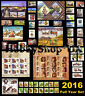 Ukraine 2016 Year COMPLETE Full Set of Ukrainian Stamps Blocks Standard 85 pcs.