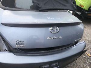 04 05 06 07 08 Toyota TOYOTA SOLARA Trunk/decklid/hatch/tailgate