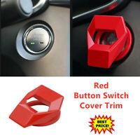 Universal Auto Startknopf Abdeckung Motor Trimmen Start Stop Druckschalterkor