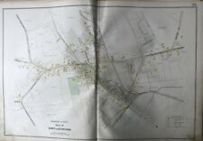 ORIGINAL 1906 MIDDLESEX COUNTY MA BEDFORD STATION UNION SCHOOL PLAT ATLAS MAP