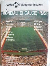 Mondiali di Calcio Italia 90 - piante della città Stadi Calendari Torneo [OGL]