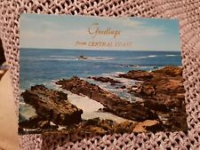 Greetings From Central Coast - 1973 Postcard